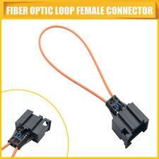 Femmes plus fibre optique boucle connecteur / terminal pour Mercends BMW Audi