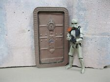 Star Wars Award Winning Custom Cast Space Port Door Diorama Parts Free Shipping