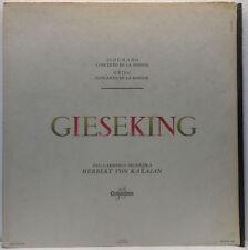 Walter Gieseking - Schumann / Grieg Concerto in A Minor LP Columbia 33 FCX 284