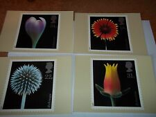 Flowers 20 January 1987 PHQ 99 set Royal Mail Stamp Card Series MINT FREE POST
