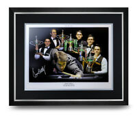 Ronnie O'Sullivan Signed Photo Large Framed Snooker Display Autograph + COA