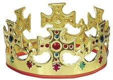 Novelty Majestic King Queens Crown Single Crown Included Featuring Painted New