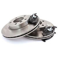 2x Discos de Freno + Forros Delantero Peugeot Ventilado Xco