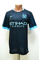 MANCHESTER CITY 2015/2016 AWAY FOOTBALL SHIRT JERSEY NIKE SIZE S ADULT
