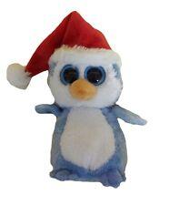 Peluche Pinguino natale occhioni  Ty Beanies 15cm *04992