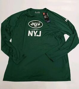 NFL Under Armour New York Jets Combine Authentic Long Sleeve T-Shirt Mens