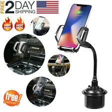 New listing New Universal Car Adjustable Gooseneck Cup Holder Cradle Mount for Cell Phone E5