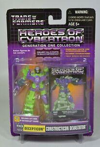 Hasbro Transformers Heroes of Cybertron Wave 5 Constructicon Devastator