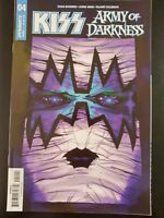 KISS The ARMY of DARKNESS #4b (2018 DYNAMITE Comics) ~ VF/NM Book