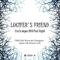LUCIFER'S FRIEND LIVE IN JPN 2016 FINAL NIGHT CD XAVEL-HM-080 MOONSHINE RIDER