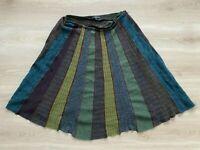 ETRO Milano Skirt Vintage 90'S Wool & Alpaca Retro Skirt Size - IT 46 / UK 14