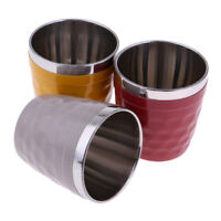 Mini Stainless Steel Camping Travel Cup Mug Drinking Coffee Tea Beer Tumbler