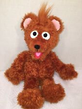 "EUC-RARE-15"" SESAME PLACE WORKSHOP Plush BABY BEAR Street Brown Stuffed"