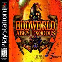 Oddworld: Abe's Exodus (Sony PlayStation, PS1, PSX, 1998)