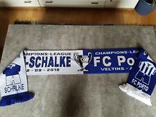 FC SCHALKE 04-FC Porto - Fan Schal -NEU