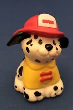 Fisher Price Little People Firemen Rescue Dog With Yellow Jacket