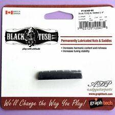 SILLET EPIPHONE graph Tech BLACK TUSQ XL PT-6060-00 Slotted nut 43.84x8.89x6.1mm