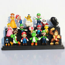 SUPER MARIO BROS. 18 PERSONAGGI - ACTION FIGURE NINTENDO