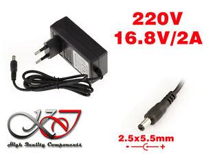 Netzteil Äußere - 220V Für 16.8V 2A - Aufsatz 2.5 x 5.5mm