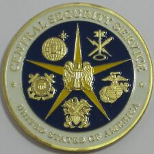 UNITED STATES CENTRAL SECURITY SERVICE CHALLENGE COIN