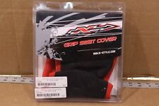 GRIP SEAT COVER BLACK TOP/RED SIDES  N50-6005   194231