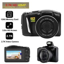3.0in 48MP Mirrorless Camera 2.7K High Definition Video Recorder Digital Camera