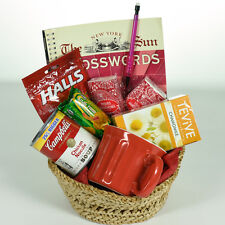 Get Well Gift Basket - Large Red Activity Soup & Mug