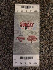 2015 MLB ALL STAR GAME UNUSED TICKET STUB SUNDAY FUTURES GAME KYLE SCHWARBER