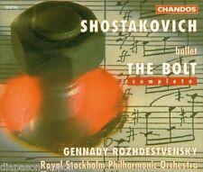 Shostakovich: the Bolt / Rozhdestvensky, Royal Stockholm Philarmonic - CD