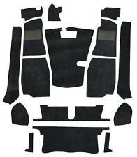 MG MGB GT Full Black Carpet Set - High Quality