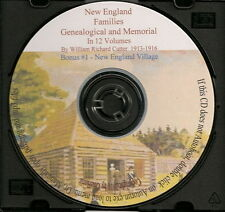 New England Families Genealogical and Memorial