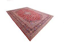 Magnifico Tappeto Persiano Kashan 419 x 310 Orientteppich Alto Condizioni No. 80