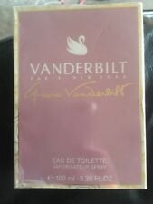GLORIA VANDERBILT VANDERBILT 100ML EAU DE TOILETTE SPRAY BRAND NEW & SEALED
