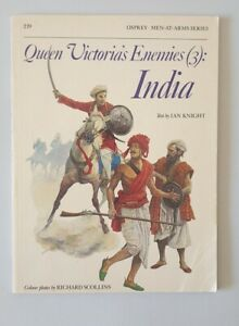 E750 Osprey Men-at-Arms Series 219 Queen Victoria's Enemies 3 India