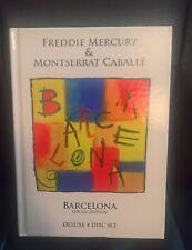 Freddie Mercury  Montserrat Caballé Barcelona special edition deluxe 4 disc set