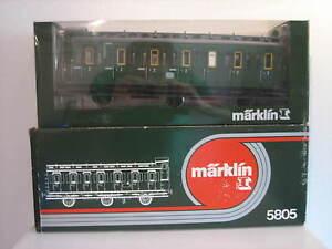 Märklin 5805 Gauge 1 Passenger Car Like New Original Box