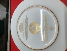Lenox China Plate of Confederate Collection Limited Edition Plate 24K Gold Trim