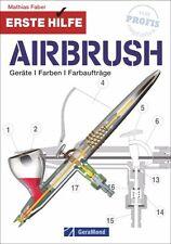Airbrush Modellbau und Modellbahn Geräte Farben Farbaufträge Modelle Buch Book