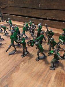 "Louis Marx & Co. MCMLXIII 1963 Toy 2"" 26 Plastic Soldier US Army Infantryman"