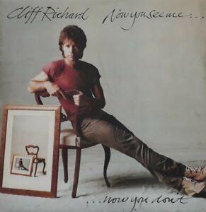 Cliff Richard-Now You See Me Now You Don't Vinyl LP.1982 EMI EMC 3415.