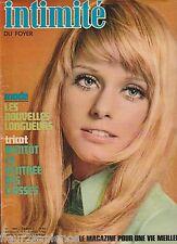 Revue Intimité N°1294 août 1970 roman-photo complet  tricot