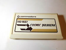 Commodore Cosmic Jailbreak Vic-20 computer cartridge - WORKS