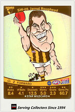 2011 AFL Teamcoach Cards Star Wild SW9 Jarry Roughead (Hawthorn)