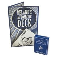 Deland's Automatic Playing Cards - Marked, Stacked and Stripped Deluxe Deck!