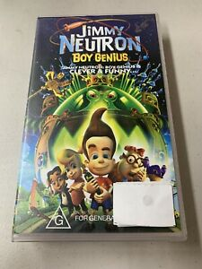 Jimmy Neutron Boy Genius - VHS Original Tape