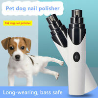Professional Electric Pet Nail Grinder Grooming Trimmer Charging Dog&Cat Clipper