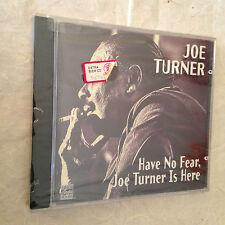 JOE TURNER CD HAVE NO FEAR, JOE TURNER IS HERE OJCCD-905-2 1996 JAZZ