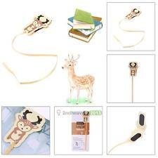 Novelty Cute Animal Deer Magnet Bookmark Paper Clip School Office Supply Notes