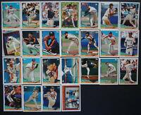 1994 Topps Houston Astros Team Set of 25 Baseball Cards