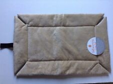 New listing Safe! Self Warming Crate Pet Bed Pad Cat Dog Kitten Puppy Beige Tan 14x22